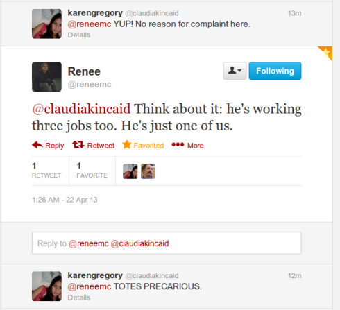 Benno Schmidt Twitter exchange