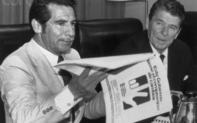 Reagan and Rios Montt